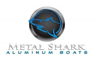 Metal Shark Logo White Back