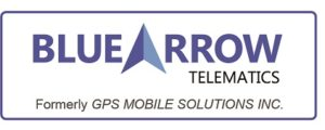 Blue Arrow Logo Formely GPSMS with Border