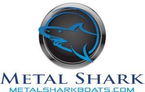 METAL SHARK LOGO STANDARD - FOR WHITE BACKGROUND